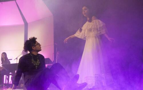 "Rodolfo Giron and Maria Sabia in ""El Colibrí Mágico (The Magic Hummingbird)"